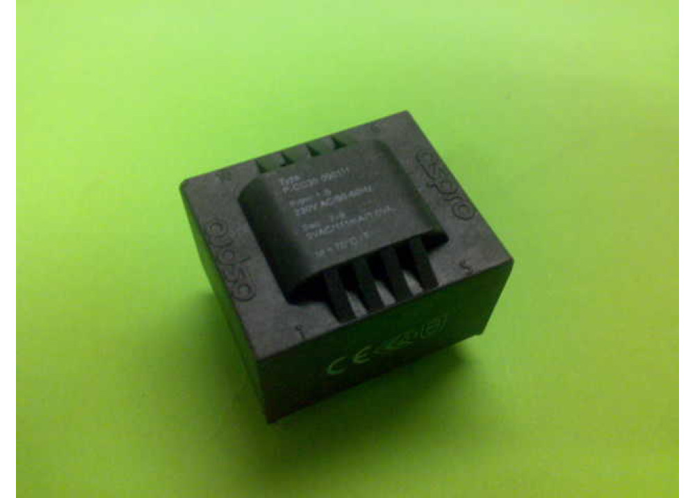 PCB TRANSFORMER 9VX1 1VA 111mA