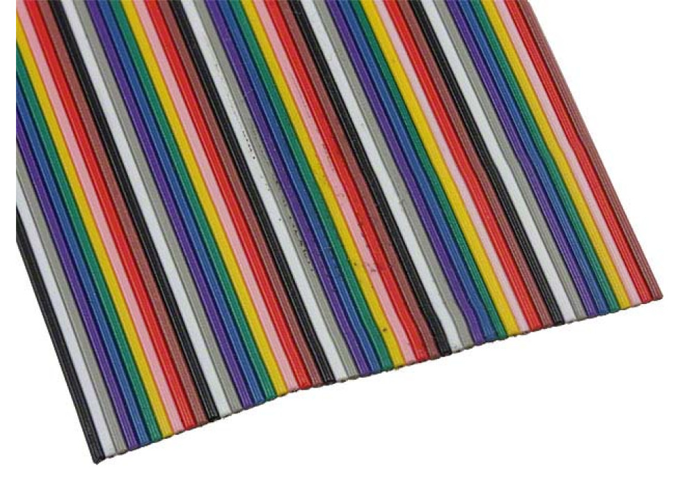 Multicolor Flat Cable  50P TIWAN