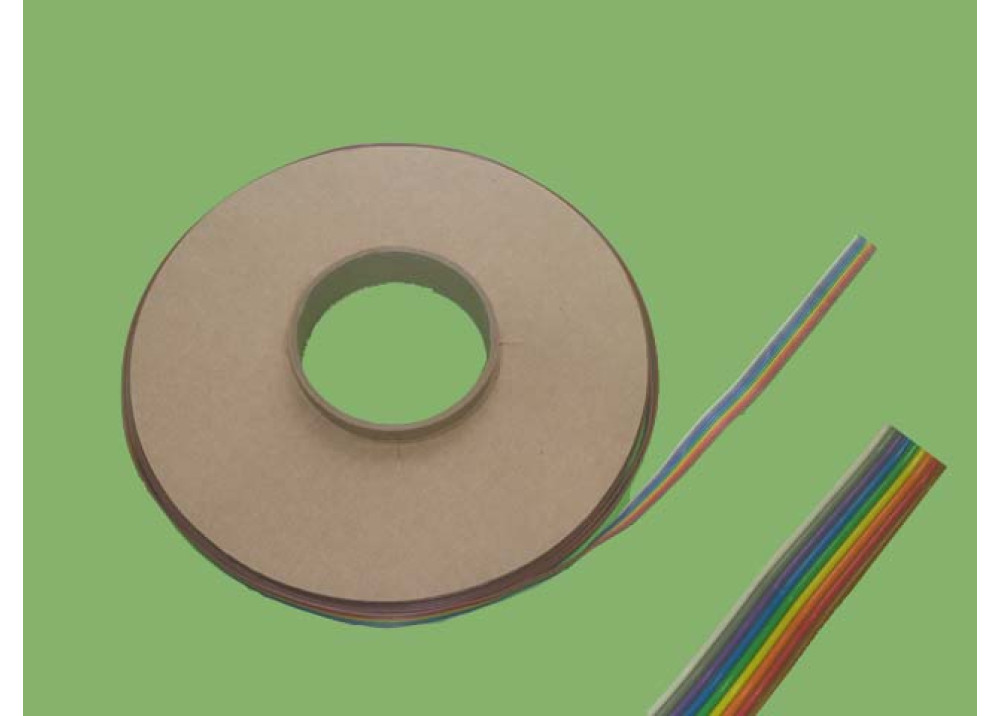 COLORED FLAT CABLE 9 PIN