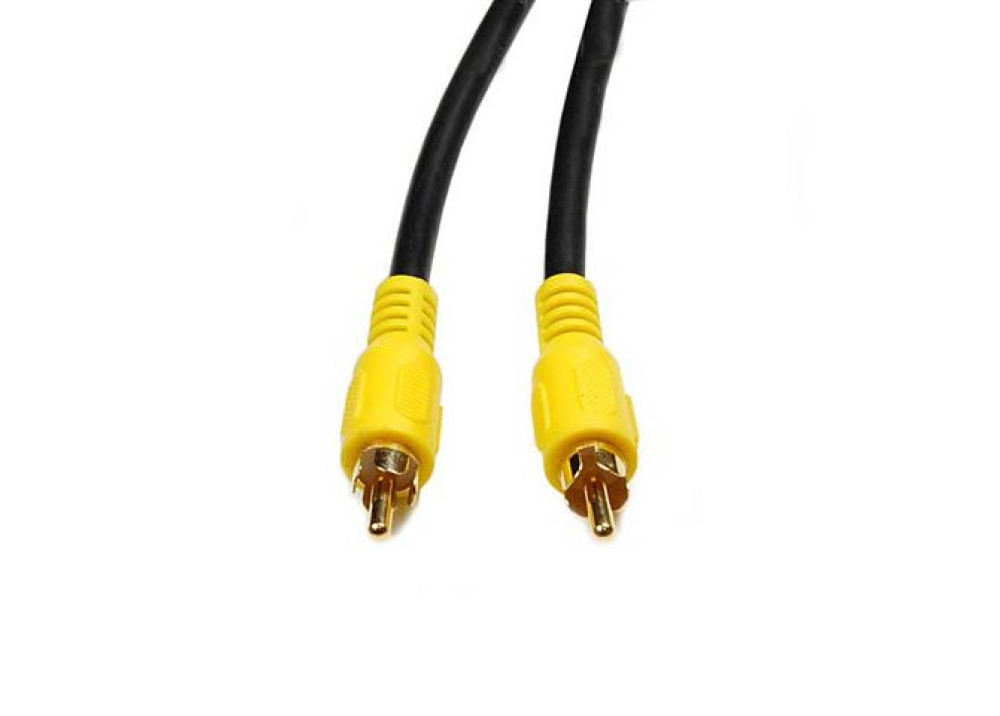 CABLE RCA  VIDEO 1MALE TO 1MALE1.5M