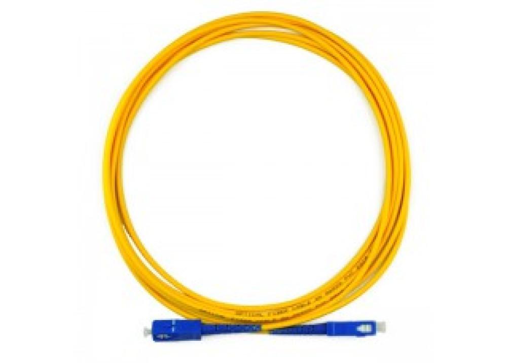 Simplex mode fiber optic jumper cable 3M SC-SC-SM-G652D