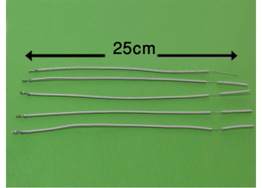 WIRE 25cm 2mm WHITE