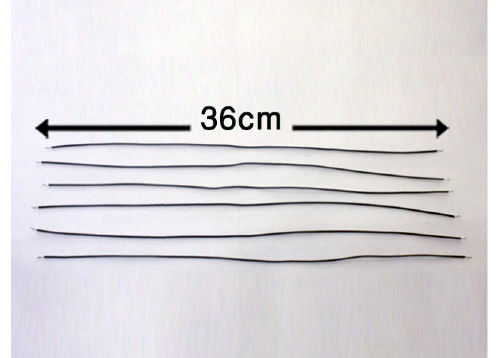 WIRE 36cm 1mm GREY