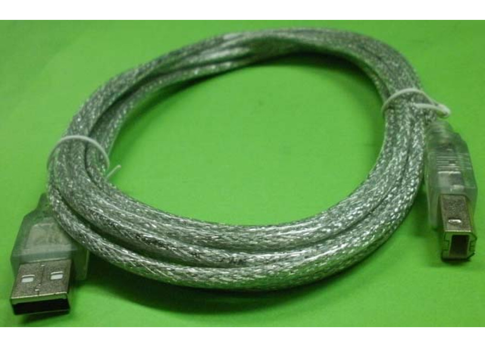 MH USB CABLE A TO B MM 3M