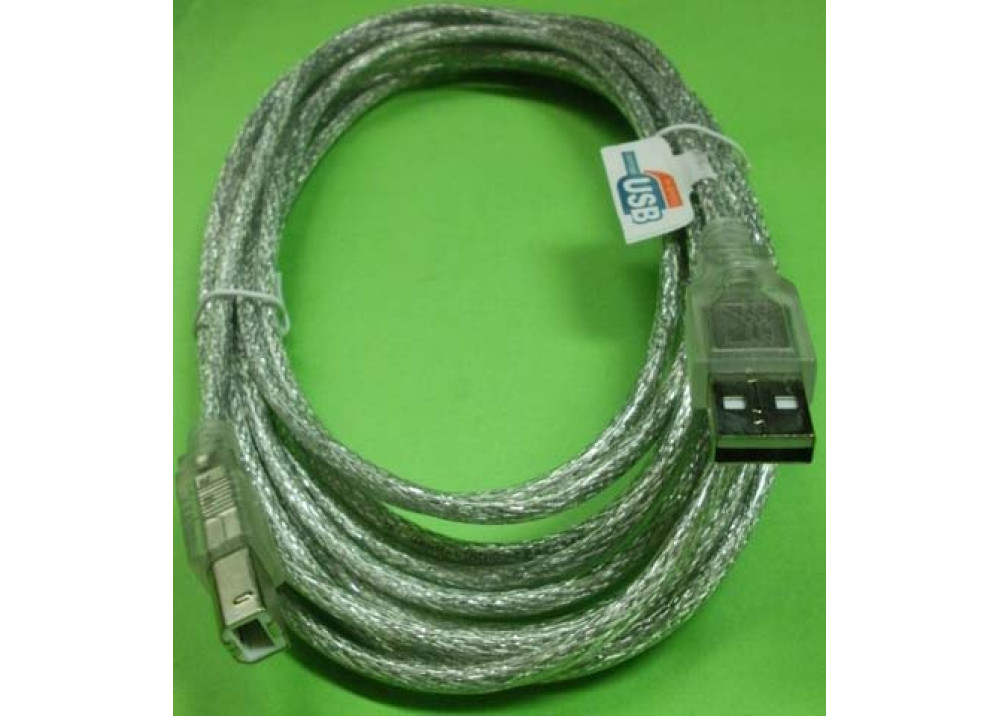 MH USB CABLE MALE TO MALE A TO B 4.5M
