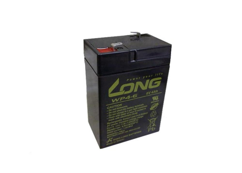 BATTERY LONG 6V 4A
