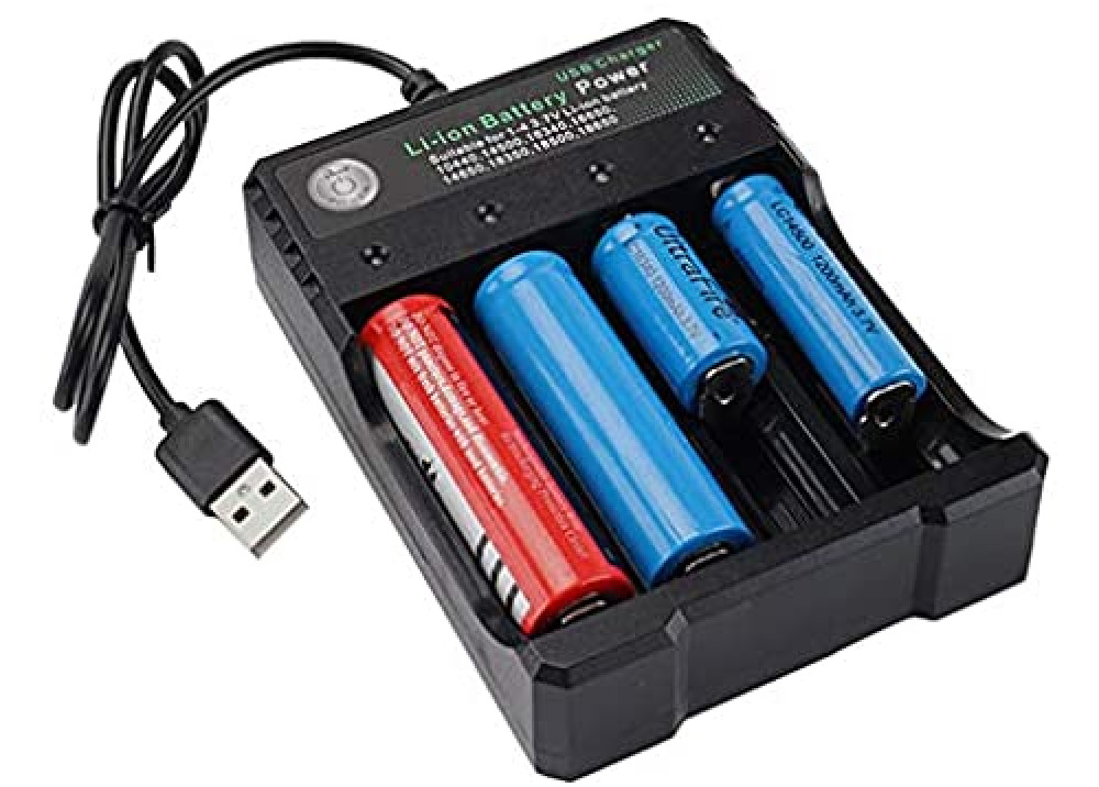Battery Charge YL-042100-04U  4x18650 for Lithium-ion