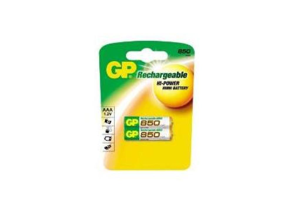 BATTRY GP 85AAAHC-U2 850MA 2PCS
