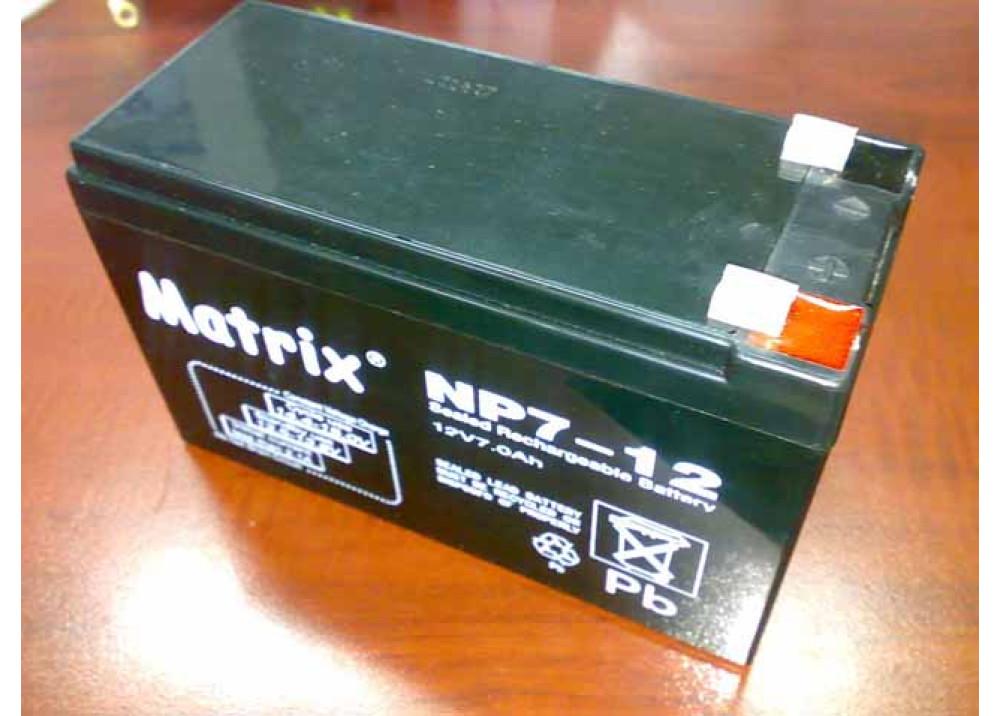 BATTERY MATRIX 12V 7A