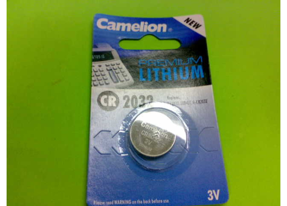 CAMELION LITHIUM BATTERY CR2032