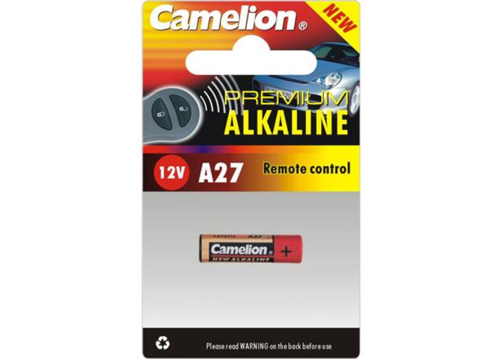 CAMELION ALKALINE A27 BP1 12V
