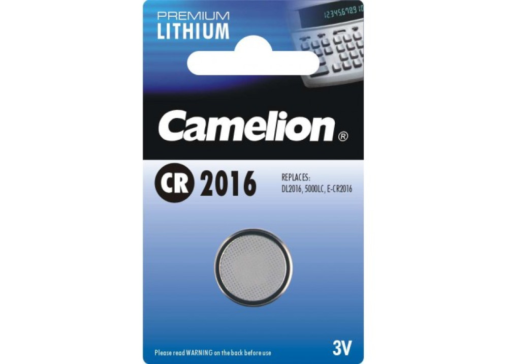 CAMELION LITHIUM BATTERY CR2016