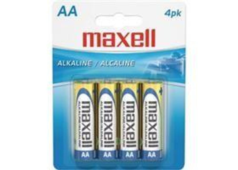 MAXELL ALKALINE AA 1.5V 4PCS