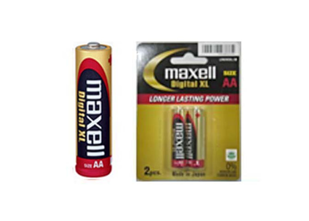 MAXELL ALKALINE Digital  XL  AA 1.5V 2PCS