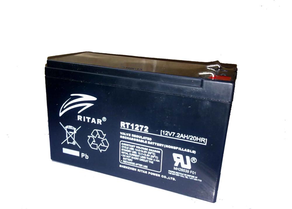 BATTERY RITAR 12V 7.2A