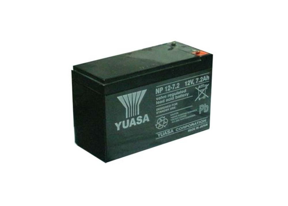 BATTERY YUASA 12V 7.2A