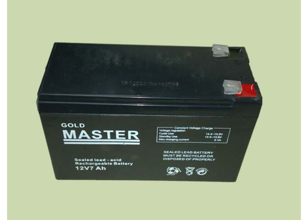 BATTERY GOLD MASTER 12V 7A