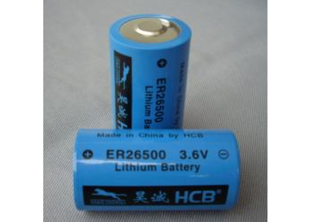 Battery Lithium HCB  ER26500 3.6V SIZE-C