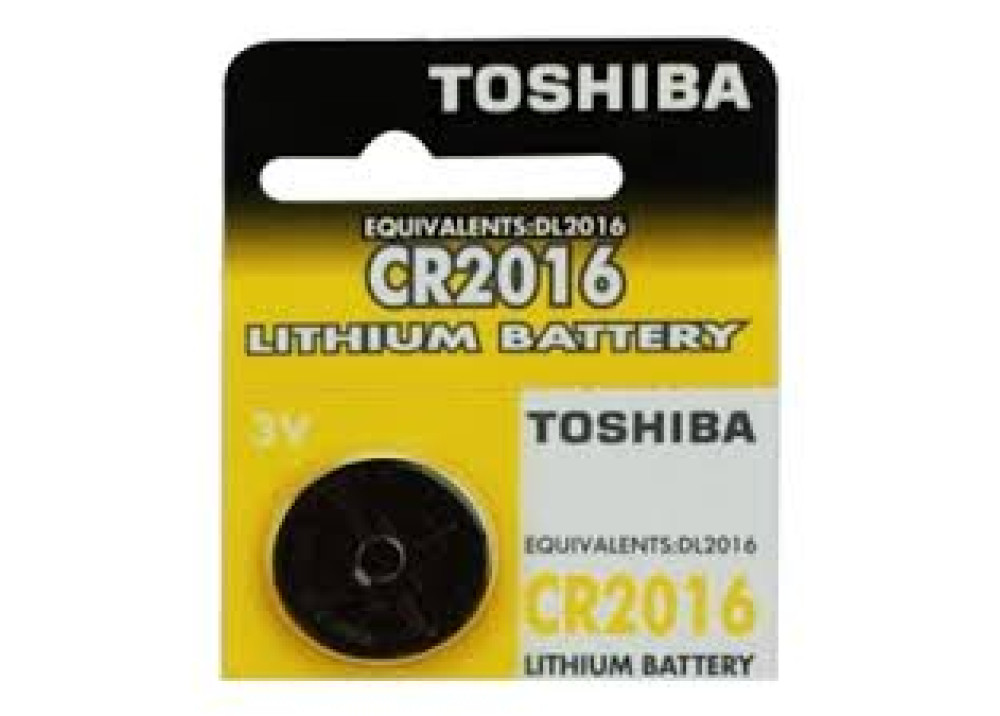 TOSHIBA Lithium Battery CR2016-DL2016 3V