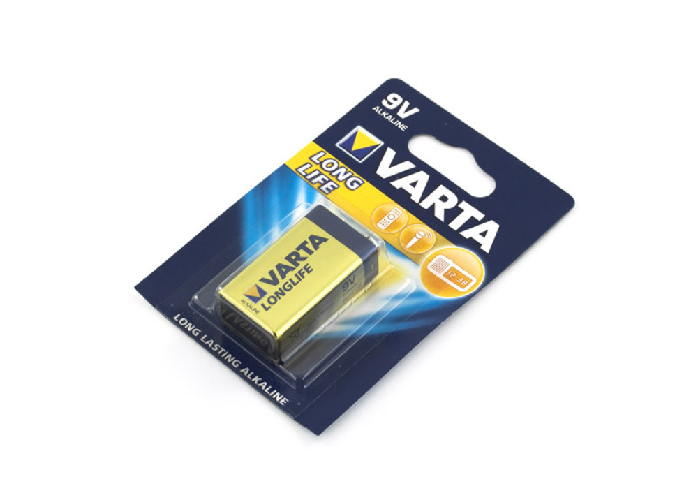 Varta Longlife Batterie 9V Alkaline 6LP3146