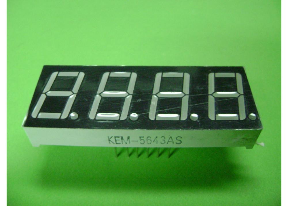 LED DISPLAY 7SEG 0.56-4R