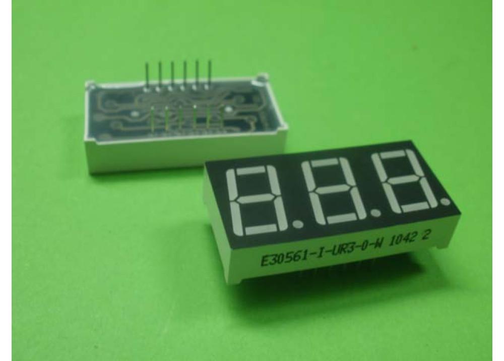 LED DISPLAY 7SEG 0.56+3R Common Anode