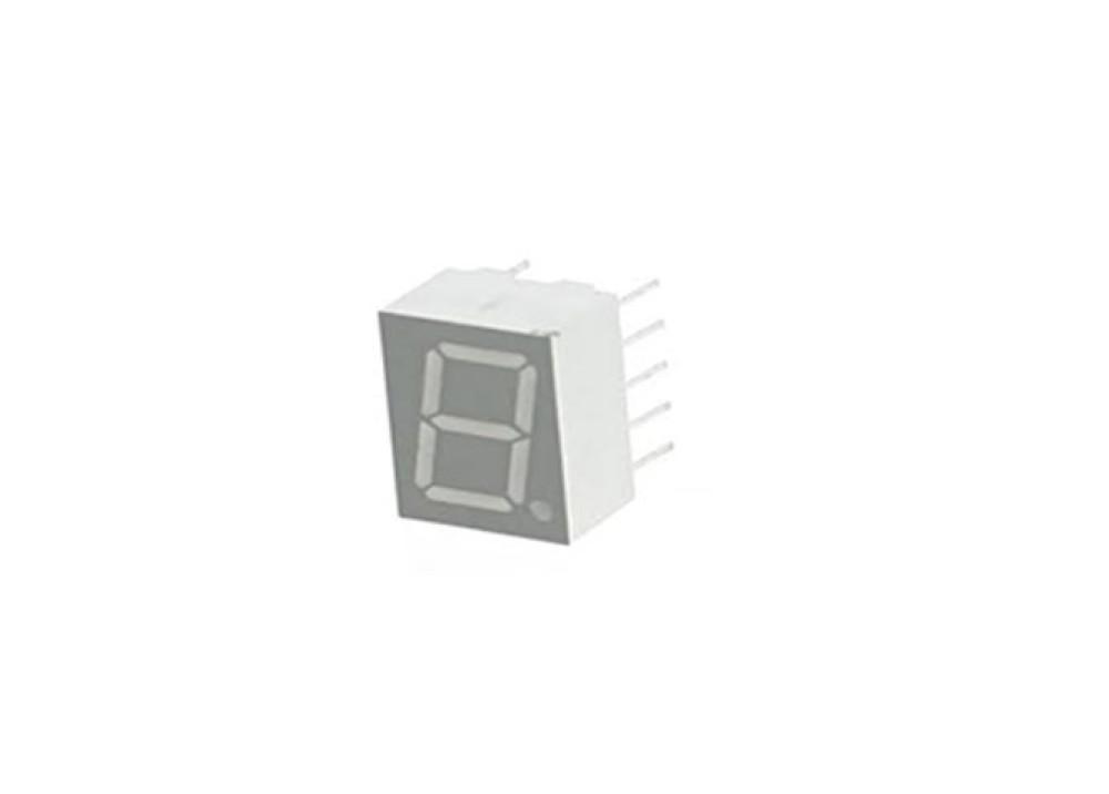 LED DISPLAY 7SEG 0.4+1R