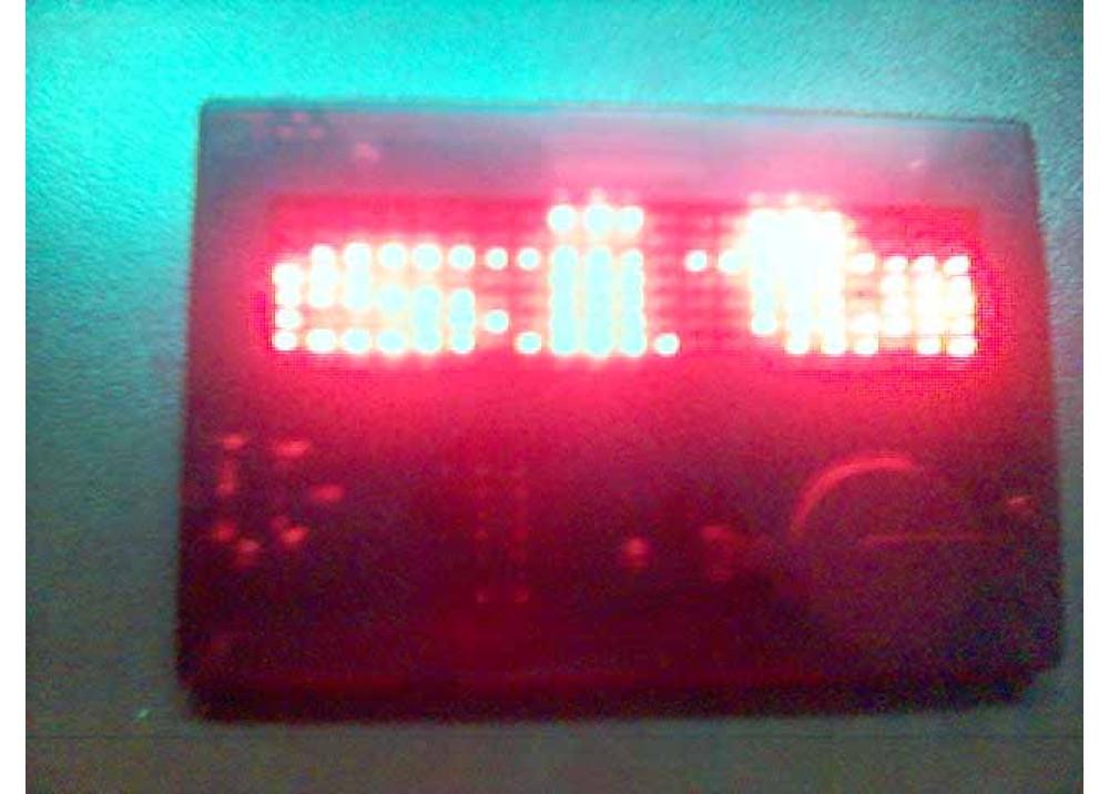 LED CARD 7X21 DOT