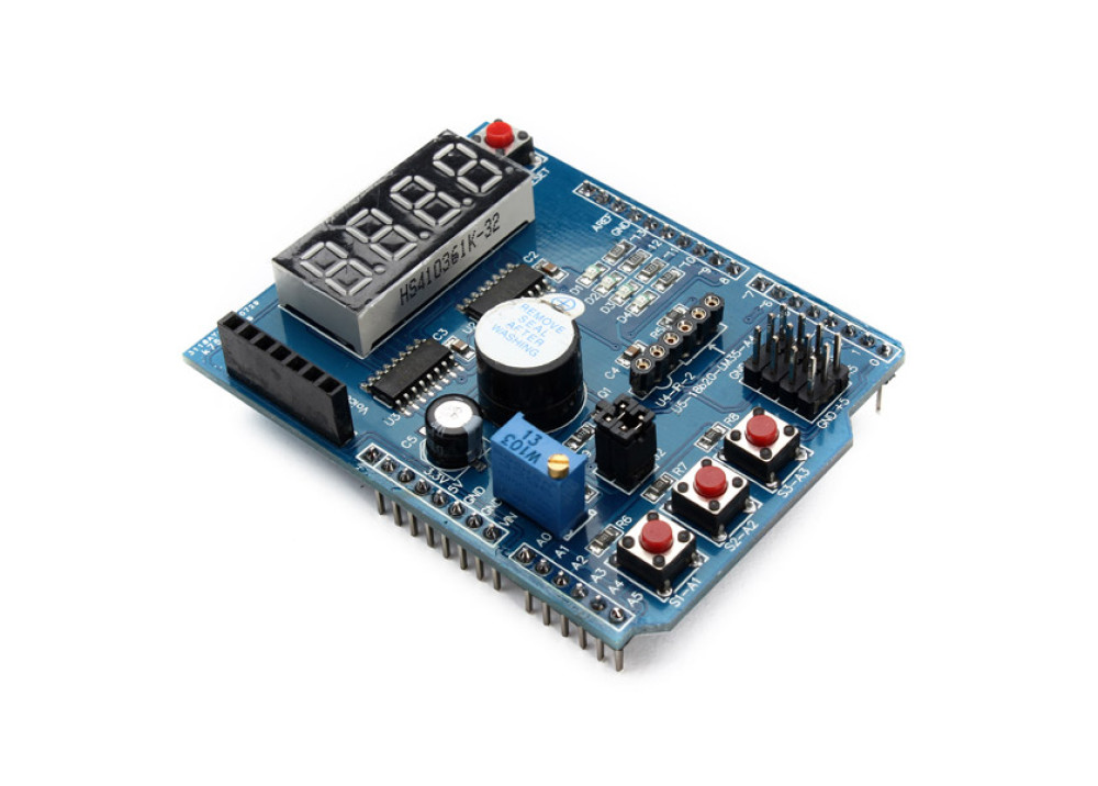 Arduino 4 Digital Multi-function Shield Expansion Board