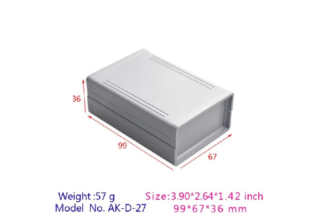 Plastic BOX 99x67x36mm AK-D-27