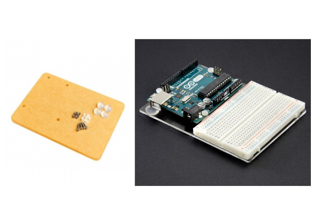 Universal Experimental Platform for Arduino UNO R3 Transparent Clear Acrylic Board