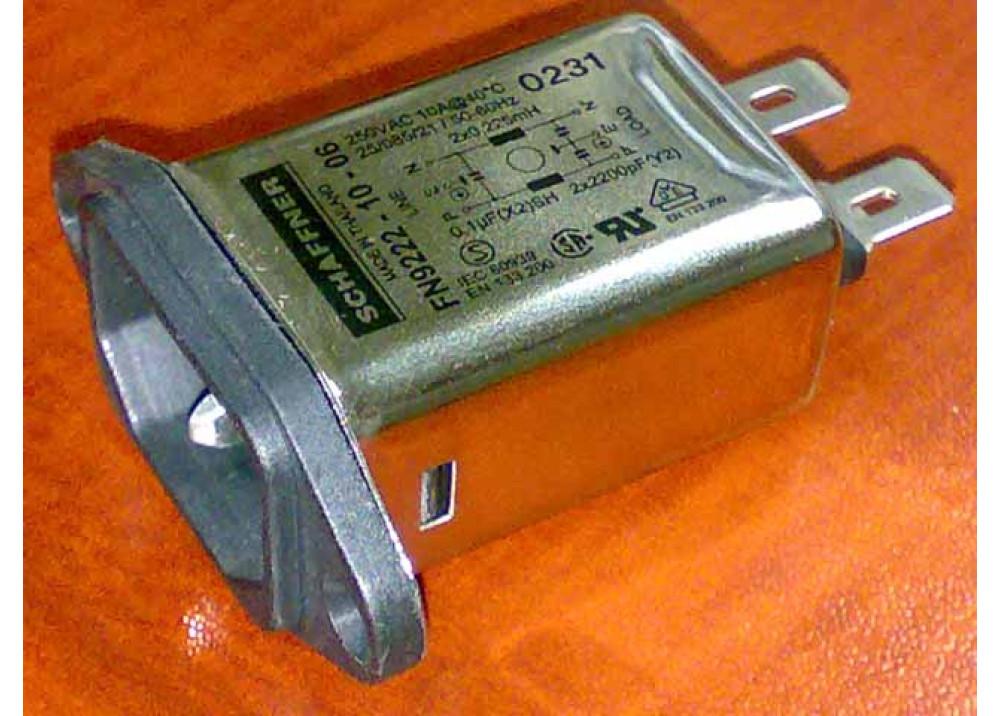 FILTER FN9222 10 06 10A 250V