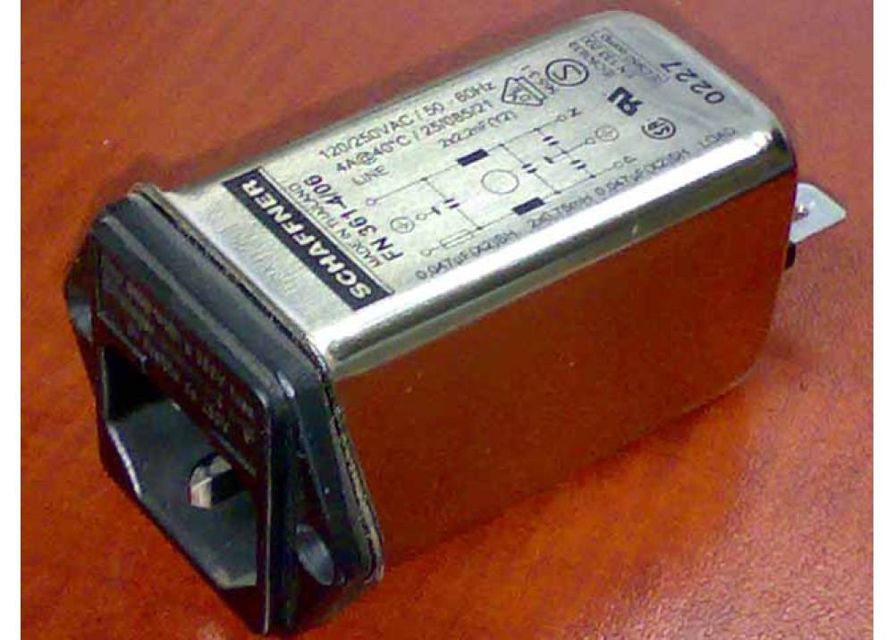 FILTER FN361 -4 06 4A 250V
