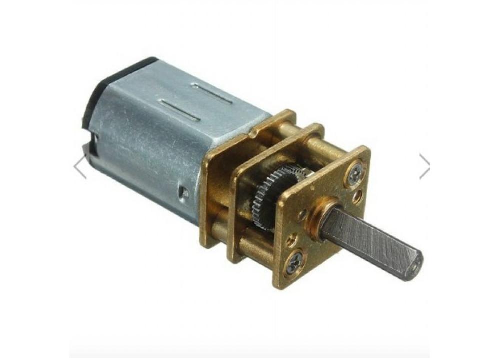 GA12-N20-200 Mini DC 6V 200RPM Gear Motor 12mm for Arduino compatible Robot Car For Arduino