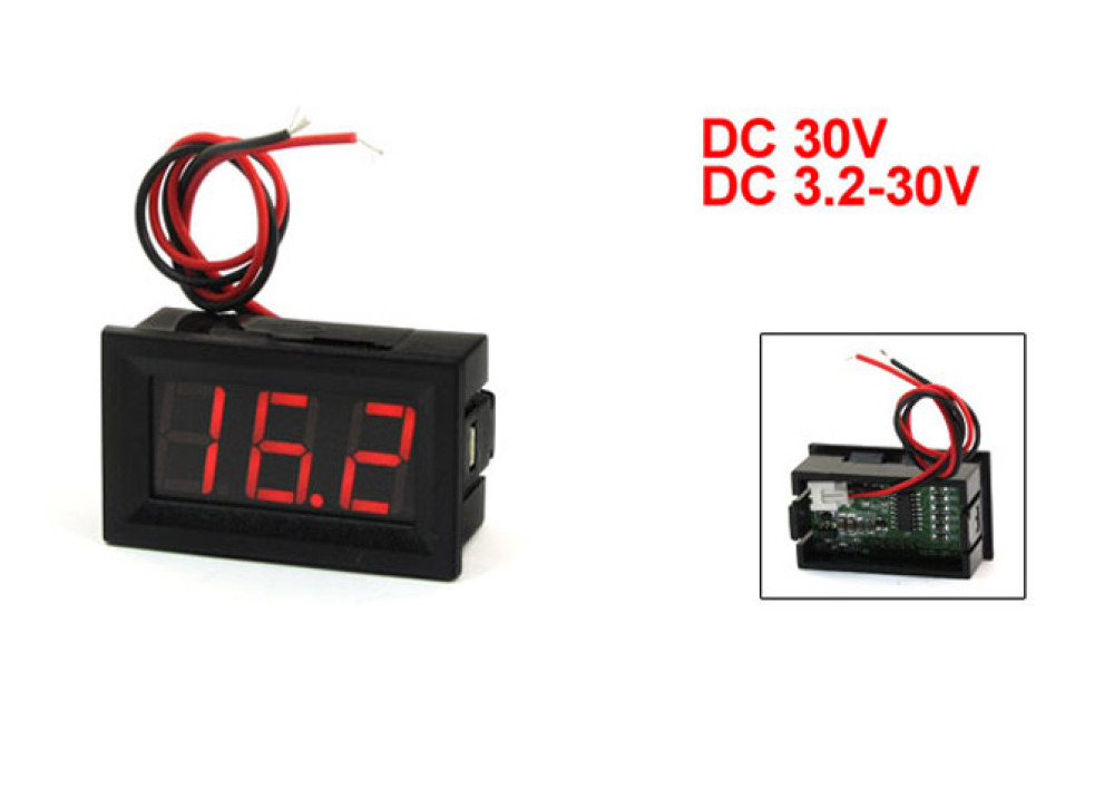 DIGITAL PANEL METER V27D-T1-3.2~30V
