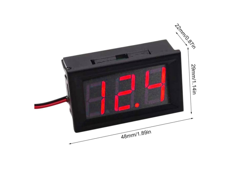 Digital DC Volt Meter 3.2V~30V