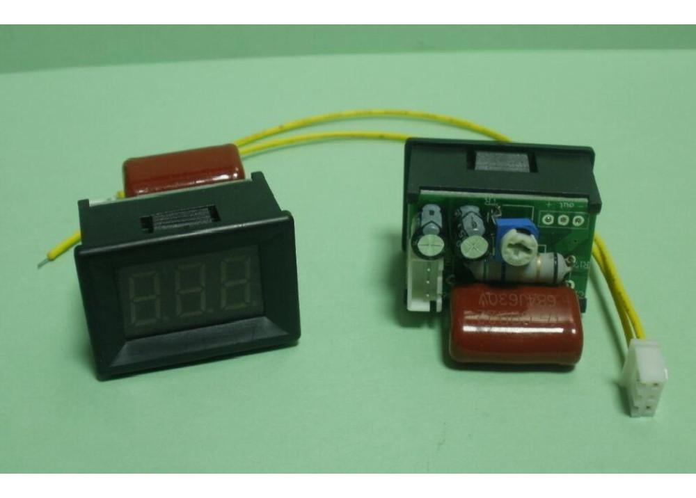 Digital Panel Voltmeter 3X0.36