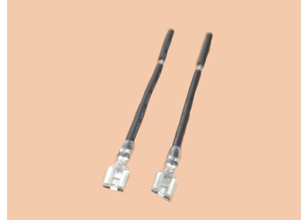 Terminal Female 3.6mm+Black wire 15CM