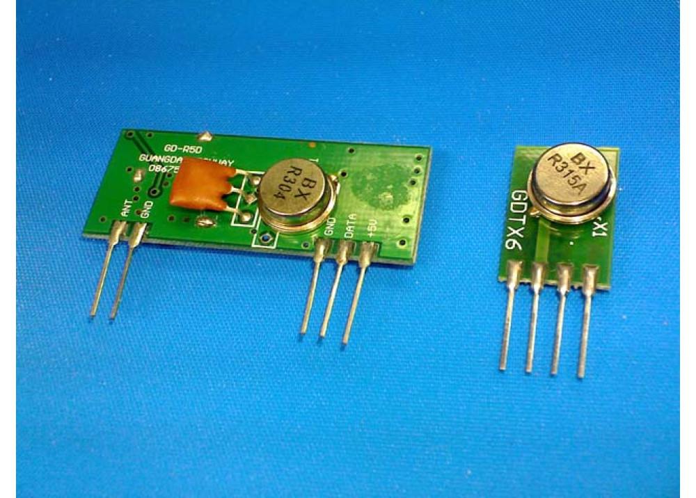 RF MODULE TX/RX GD-R5D/GD-TX6 433MHZ