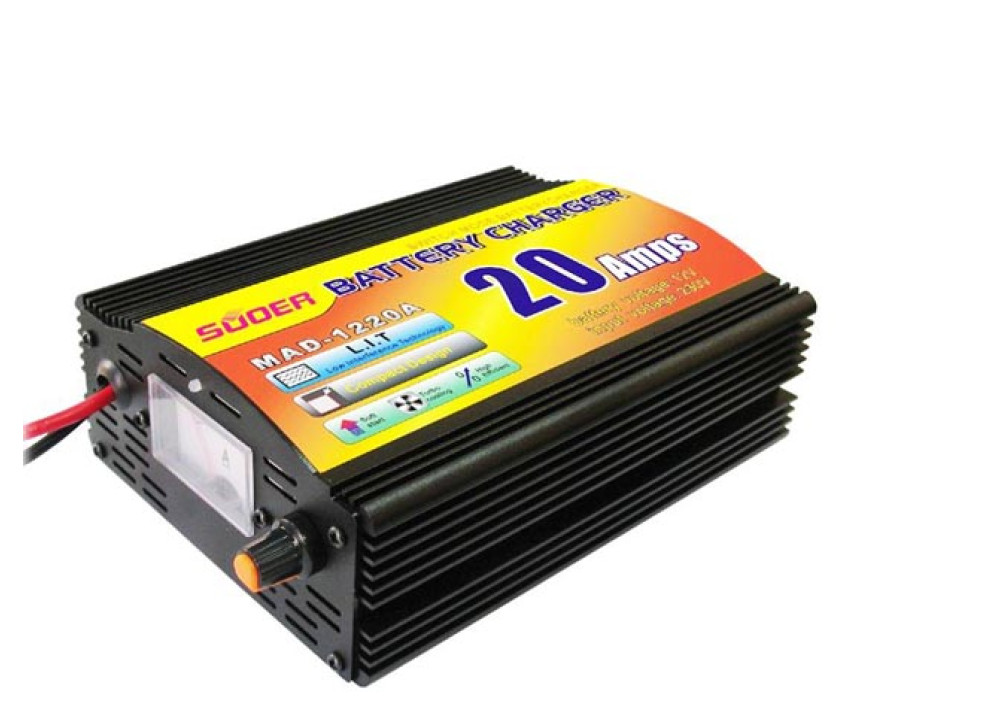 Suoer Battery Charger MAD-1220A 12V 20A