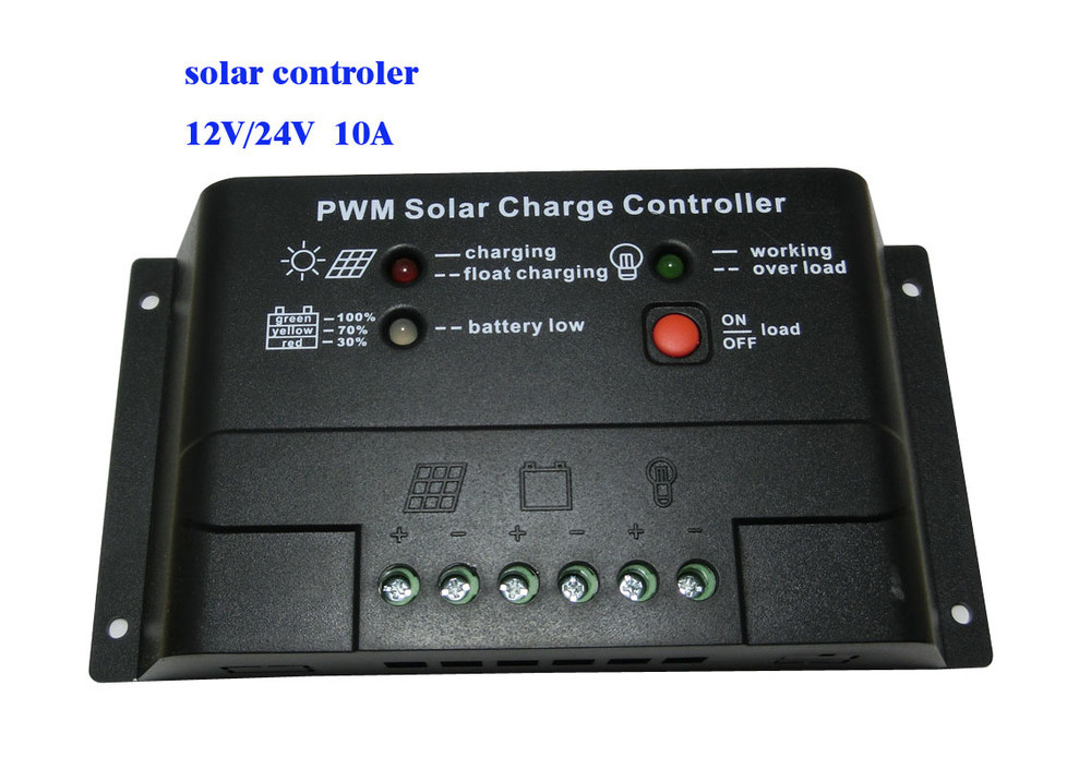Solar Charge Controller SI1024Z PWM 12V 24V 10A