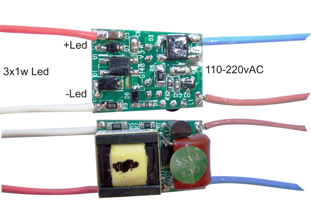 LED-DRIVER 3 X1W 220V