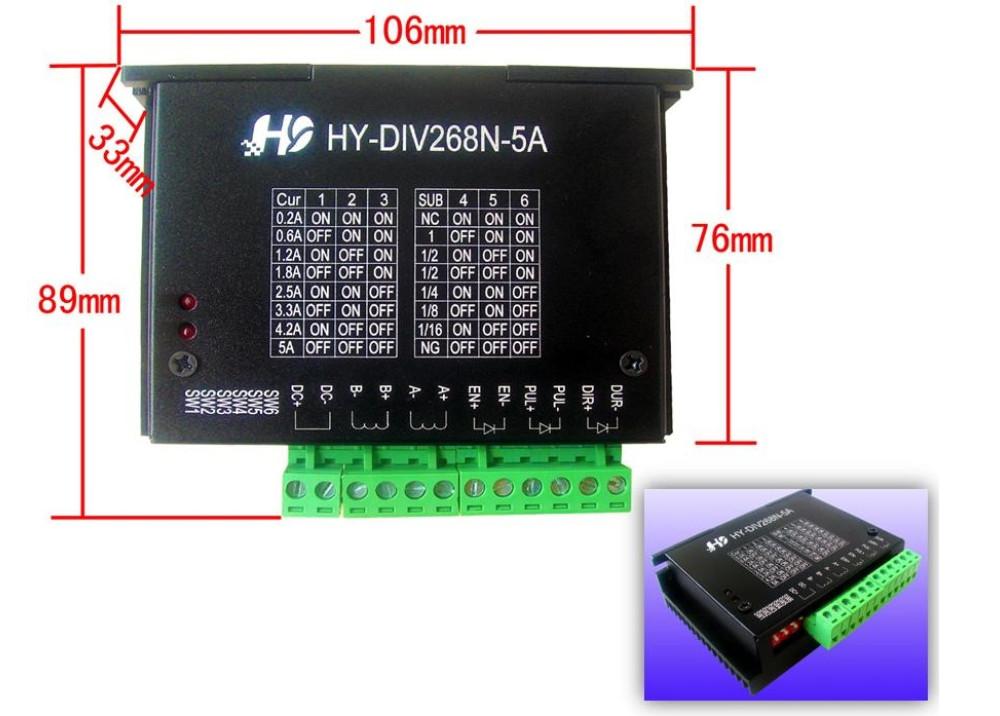 Stepper Motor Driver Controller TB6600 HY-DIV268N-5A