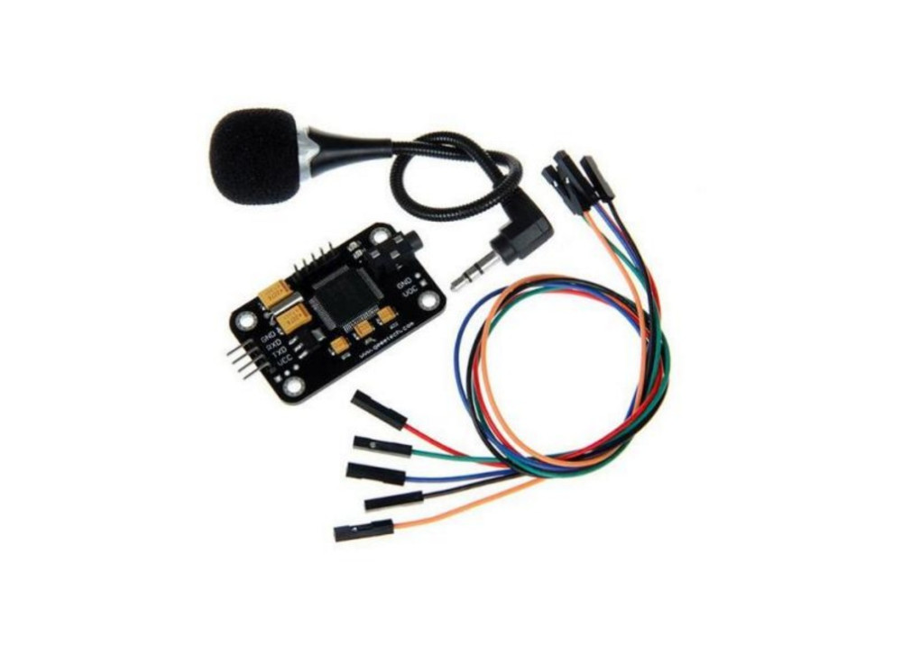 Voice Recognition ModuleWith Microphone Control Voice Board for Arduino