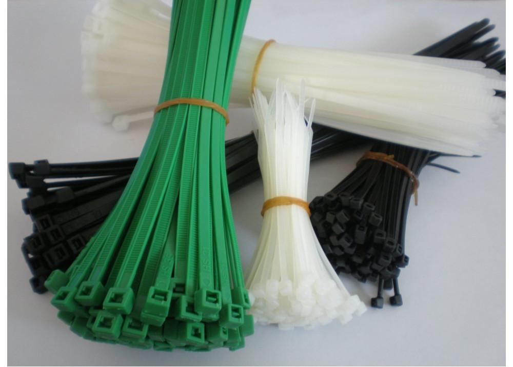Wire tie zip 25CM TIWAN 100pcs
