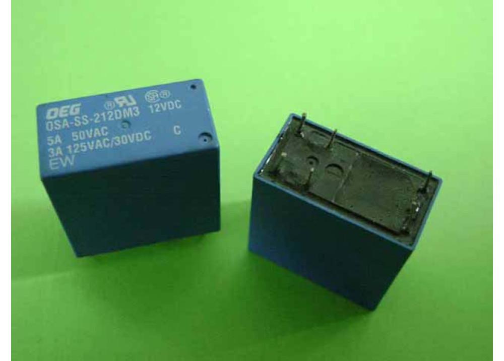 RELAY OSA-SS-212DM3 DEG 12V 5A 6P