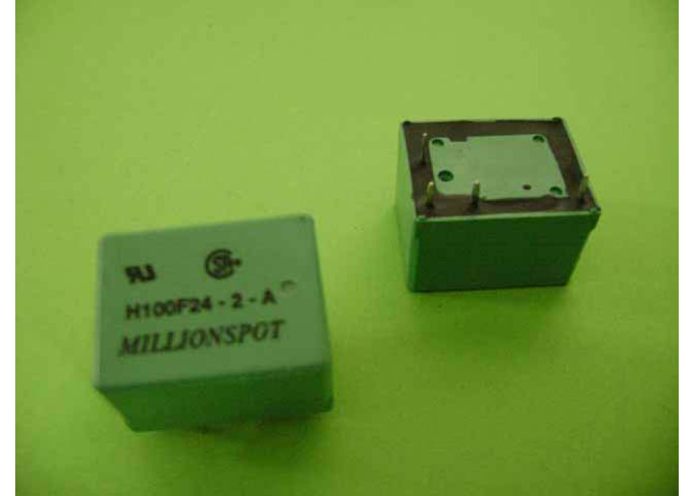 RELAY H100F24-2-A 24V 4P