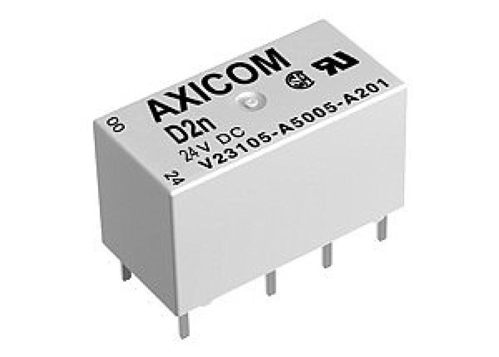 RELAYAXICOM V23105-A5005-A201 24VDC 3A 8Pins