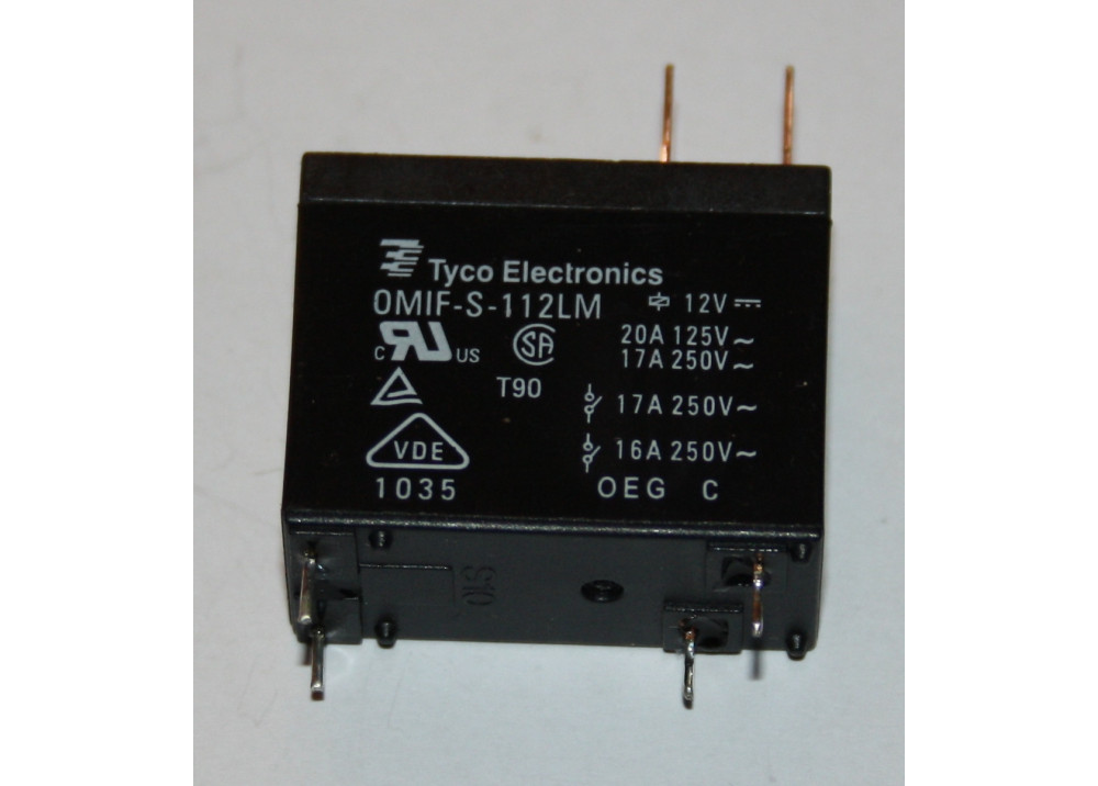 RELAY 14FA OMIF-S-112LM 12V 20A 4P