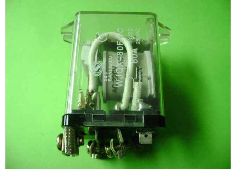RELAY POWER WJQX-80F-1C 250V 80A 5P
